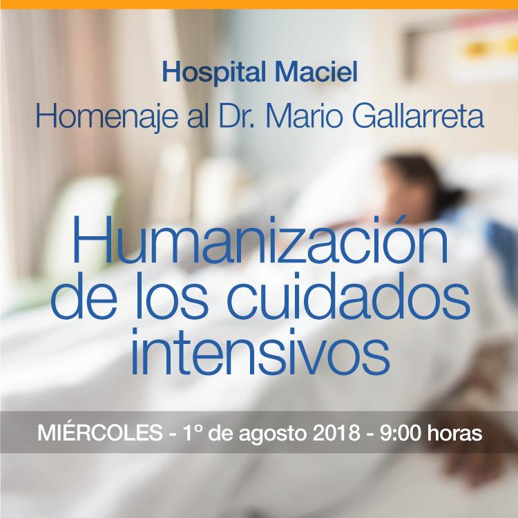 Humanización de los cuidados intensivos