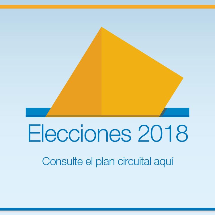 Plan Circuital Elecciones 2018