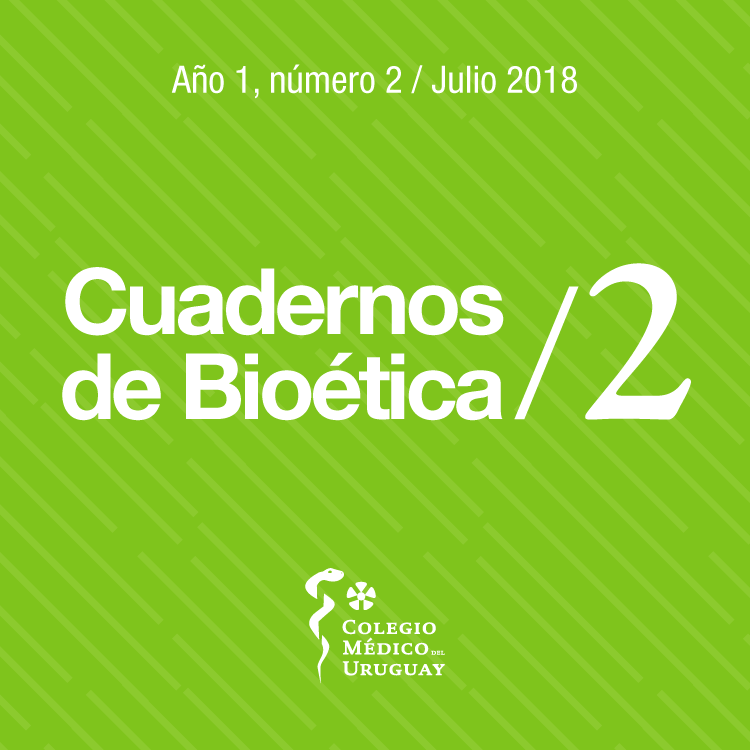 Cuadernos de Bioética Nº 2
